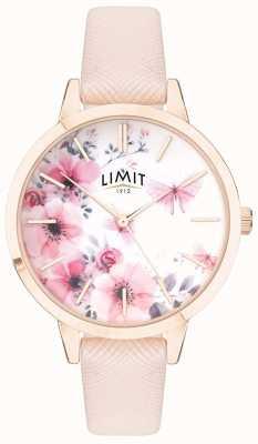 Limit | tajemniczy ogród damski | różowo-biała, kwiecista tarcza różowy strp 60023