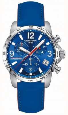 Certina Mężczyźni | ds podium wilvo yamaha | zegarek z limitowanej edycji C0344171604710