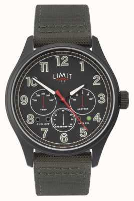 Limit | męski czarny zegarek | 5969.01
