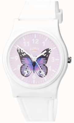 Limit | damski zegarek do ogrodu | fioletowa tarcza motyla | 60029.37