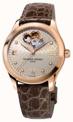 Frederique Constant | kobiety | serce automatyczne | ton złota róża FC-310LGDHB3B4