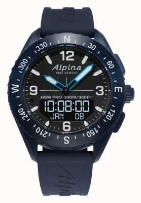 Alpina | mężczyzna alpinerx | smartwatch | AL-283LBN5NAQ6