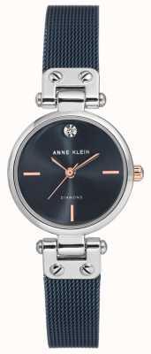 Anne Klein | damski zegarek na kabel | ton marynarki | AK-N3003BLRT