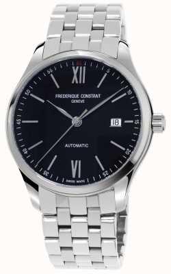 Frederique Constant Męski, płaski, wąski zegarek automatyczny FC-303BN5B6B