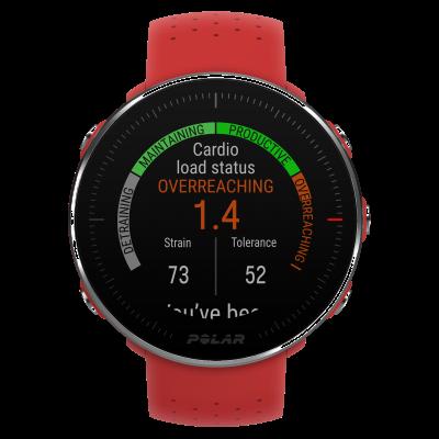 Polar | czerwony zegarek m | czerwony pasek 90069747