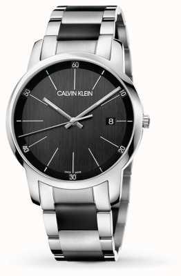 Calvin Klein | miasto męskie | dwukolorowa bransoleta ze stali nierdzewnej | K2G2G1B1