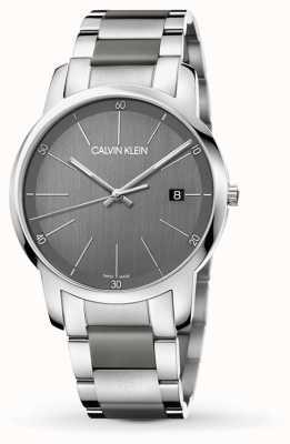 Calvin Klein | Męski zegarek rozszerzający miasto dwukolorowa stal nierdzewna | K2G2G1P4