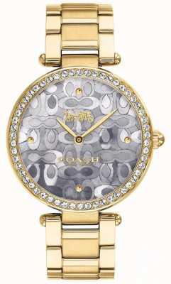 Coach | zegarek na park dla kobiet | dwa tony srebra i złota | 14503222