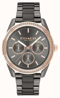 Coach | zegarek preston | zegarek ze stali nierdzewnej chronograf | 14503214