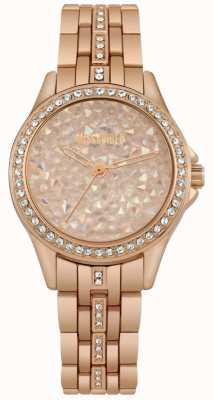 Missguided | zegarek damski | różowe złoto | kamienna tarcza z różowego złota | MG013RGM