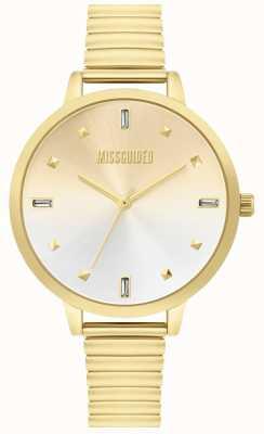 Missguided | złoty zegarek damski | MG012GM