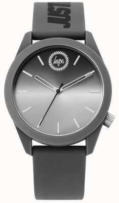 Hype | mężczyzna szary silikonowy zegarek | HYU020EE