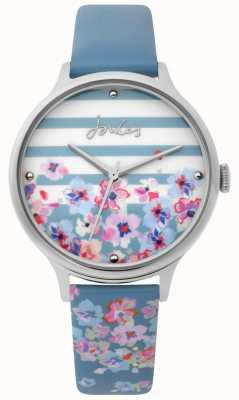 Joules | panie oglądać | jasnoniebieski pasek w kwiatowy wzór | JSL015US