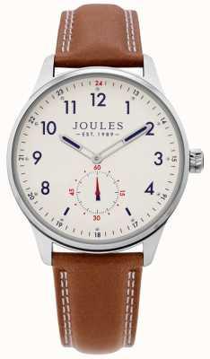 Joules | zegarek do brony męskiej | skórzany pasek JSG008T