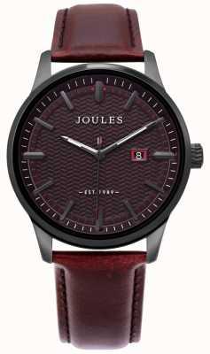 Joules | zegarek męski marfield | brązowy skórzany pasek | brązowy wybieg | JSG009BRB