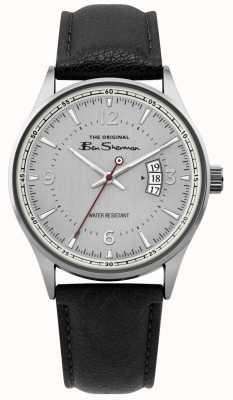 Ben Sherman | męski zegarek ze srebrną siatką | BS008B