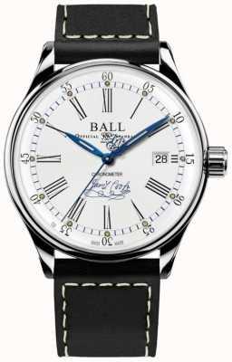 Ball Watch Company Trainmaster endeavor chronometer limitowana edycja skóry NM3288D-L2CJ-WH