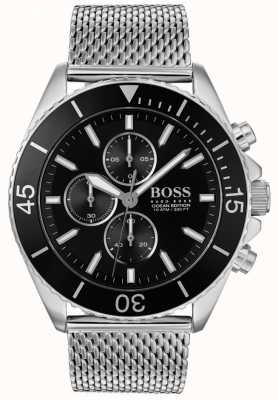 Boss | stalowy zegarek męski z edycji oceanicznej | 1513701
