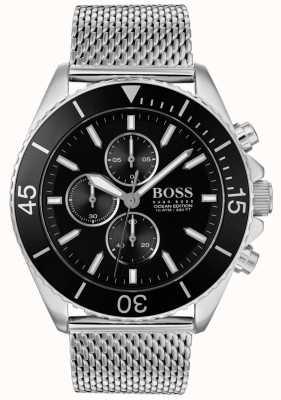 BOSS | męski zegarek ze stali, edycja oceaniczna | 1513701