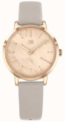 Tommy Hilfiger | damski zegarek z różowym złotym pudełkiem 1782039