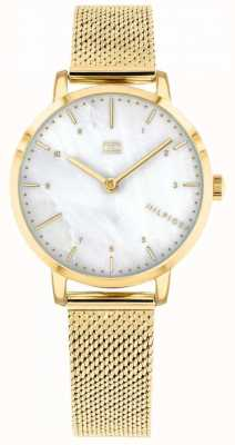Tommy Hilfiger | womes gold mesh lily watch | 1782043