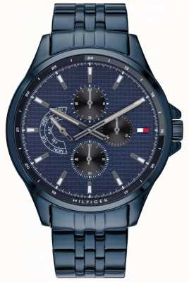 Tommy Hilfiger | shawn niebieski bransoletka zegarek | 1791618