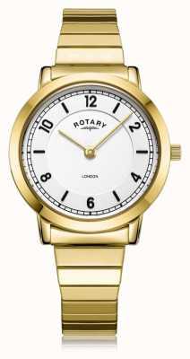 Rotary | bransoletka damska pozłacana | LB00766/18