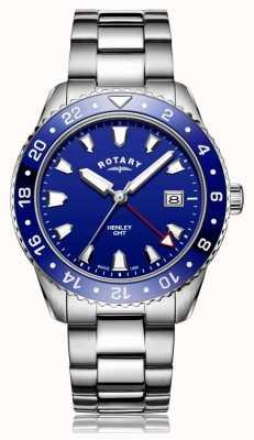 Rotary | bransoleta ze stali szlachetnej | niebieska tarcza | GB05108/05