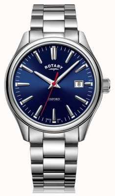 Rotary | bransoleta ze stali szlachetnej | niebieska tarcza | GB05092/53
