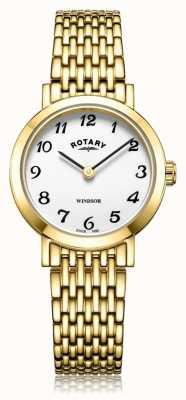 Rotary | bransoleta pozłacana damska | LB05303/18