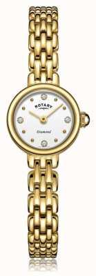 Rotary | bransoleta pozłacana damska | LB05153/02/D
