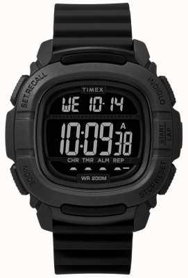 Timex | Zwiększenie szoku czarny cyfrowy | TW5M26100SU