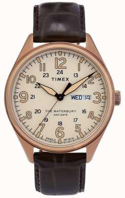 Timex | zegarek z tradycyjną datą waterbury | TW2R89200D7PF