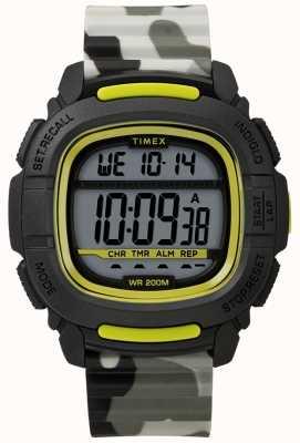 Timex | doładowanie shock black / lime / camo digital | TW5M26600SU