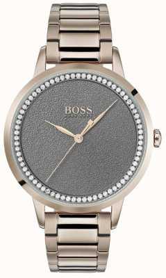 BOSS | zegarek damski zmierzch | stal nierdzewna | szara tarcza | 1502463
