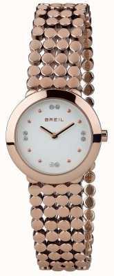 Breil | tylko dla kobiet pasek z siatki ze stali nierdzewnej | TW1767