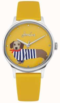 Joules | damski żółty pasek gumowy | kiełbasa pies wybierania tarczy | JSL010Y