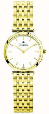 Michel Herbelin Damski zegarek ze stali nierdzewnej epsilon 17116/BP11