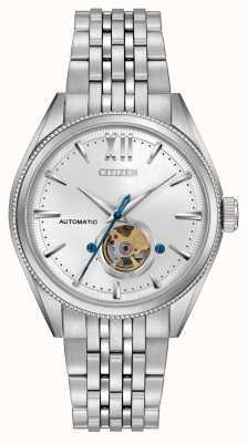 Citizen | męski podpis grand classic automatyczny | Stal nierdzewna NB4000-51A