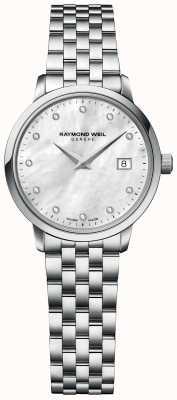 Raymond Weil | damski diament toccata | bransoleta ze stali nierdzewnej | 5985-ST-97081