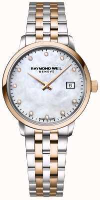 Raymond Weil | toccata damska diament | dwukolorowa stal nierdzewna | 5985-SP5-97081