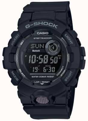 Casio | czarny cyfrowy zegarek gumowy | GBD-800-1BER