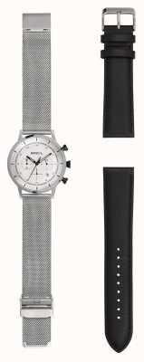 Breil | męski zegarek ze stali nierdzewnej | dodatkowy skórzany pasek | TW1806
