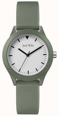 Jack Wills | damski szary gumowy pasek | JW008FGFG