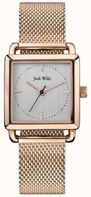 Jack Wills | panie do noszenia różowego złota | JW016SLRS