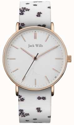 Jack Wills | panie sandhill biały krzem | biała tarcza | JW018FLWH