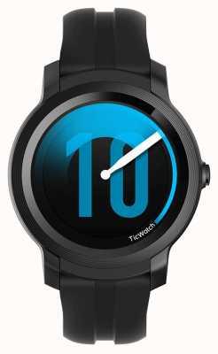TicWatch E2 | smartwatch cienia | czarny silikonowy pasek 131586-WG12026-BLK