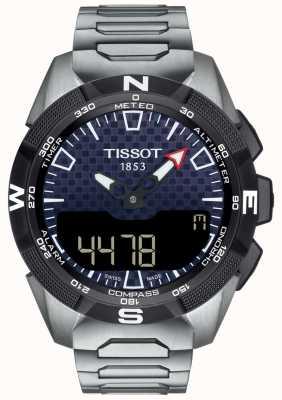 Tissot | męskie t-touch expert solar ii | bransoleta tytanowa | T1104204405100