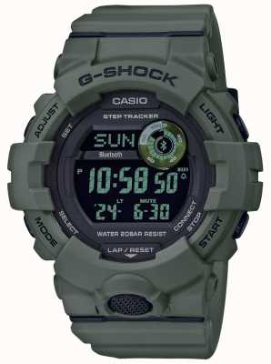 Casio | g-shock green | bluetooth | inteligentny zegarek GBD-800UC-3ER
