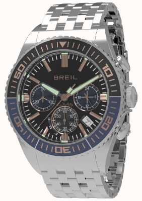 Breil | mens manta 1970 solar | czarna tarcza | ciemnoniebiesko / czarna ramka TW1822